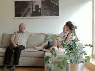 Mesum old man fucks son's moderate