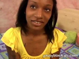Nasty Teen Ebony Girlfriend