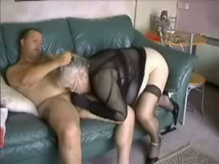 Amateur BBW Granny Fucked Video