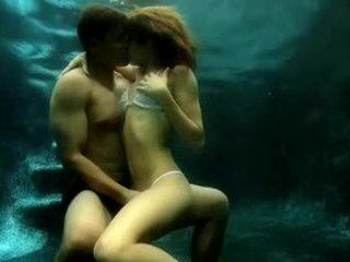 Latin love underwater sex straight