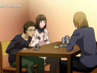 3d Anime Girl Gets Pussy Fucked Upskirt In Bed