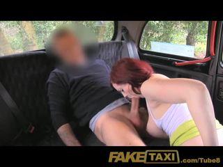 FakeTaxi Back seat blowjob bliss