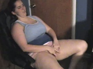 Chubby Threesome Orgy Video