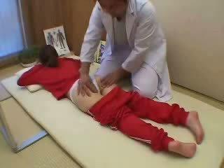 Japanese Teen Fucked at Massage Center Video