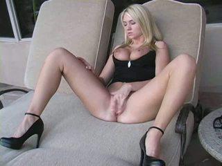 mare sexy, fierbinte frumos, vedea blond