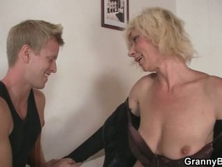 all blondes, hot grandma real, moms and boys most