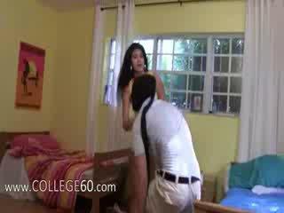 vol college scène, college meisje thumbnail, vol aanbiddelijk actie