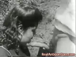 1915 điên cổ ngoài trời khiêu dâm!