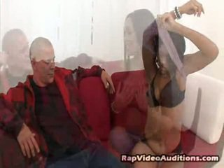 Turns Out This It's Ana X's Lucky Day! She Works For The Maid Service, But Her Dream Has Everytime Been To Be In The Music Mov Shakin' Her Amazing Ass. When She Demonstrates Up To Her Fresh Client's
