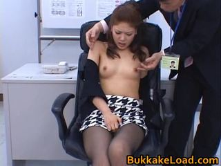 ideal japanese, ideal oriental, full pussy and dildo great