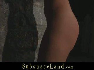 zien brunette gepost, u deepthroat, controleren grote borsten klem