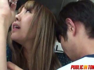 Sexy Teen In A Bus Gets Cum In Public Sex