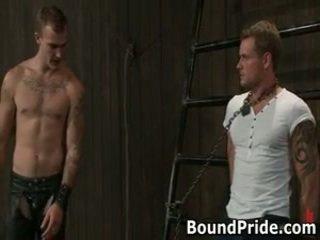 Christian trent gets له tortured بعقب fcuked 1 بواسطة boundpride