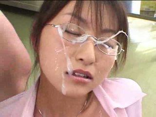 japanisch, cum, sperma