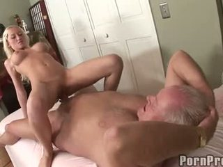 Madison Scott Sits On Her Old Man's Doinker Feeling The Fantastic Pleasure