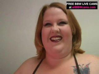 オープン プッシー 大きな美しい女性 脂肪 腹 巨人 ティッツ yells のために ディック パート 1