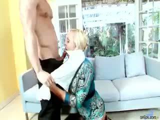 sledovať veľké prsia nový, každý zrelý, blondínka viac