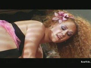 Curly Horny Redhead Slut In Hot Threesome