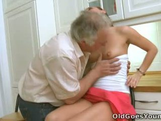 Luba's Pleasant Bra Buddies Are Very Welcome Truly To That Old Boy