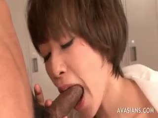 free brunette, blowjob channel, full cumshot clip