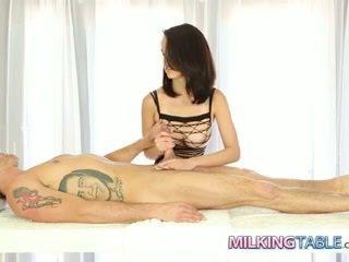nice brunette fuck, cum thumbnail, ideal cum in mouth movie