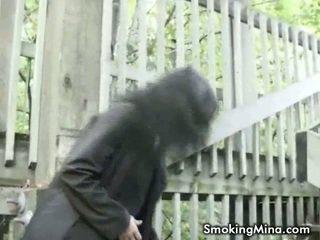 echt brunette, meest roken, video