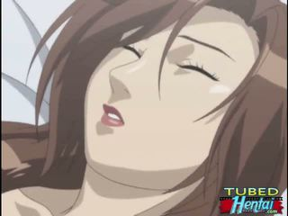 Captive hentai with a muzzle brutally fucked by monster Video