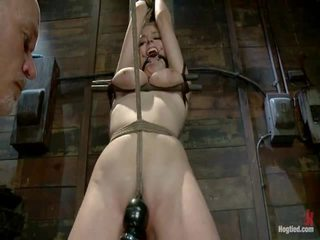 voorlegging tube, nominale bondage sex, mooi dominant