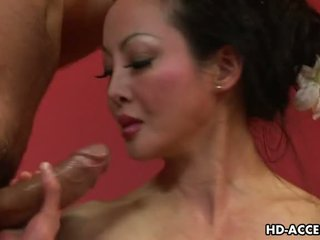 Maturidad asyano angie venus sucks at fucks good video