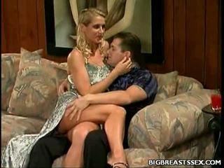 Large Tit Blonde Seduction