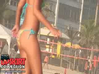 nieuw plezier seks, meest spit, heet strand