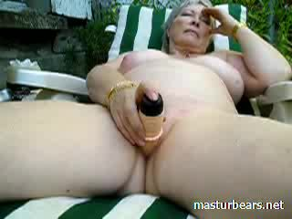 orgasme, heet oud actie, masturberen klem