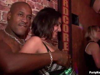 openbare sex neuken, heetste partij meisjes video-, alle club