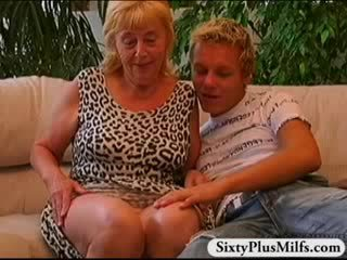 great old, rated gilf scene, grandma mov