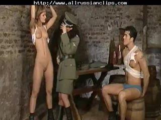 Dominant russians nadużycie prisoners rosyjskie cumshots połykanie