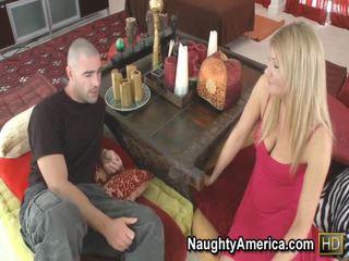 hardcore sex scène, groot pijpen scène, plezier blondjes neuken