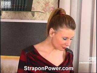 alle femdom, ideaal strapon video-, u mengen