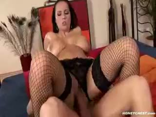 nice brunette action, big boobs, new blowjob porno