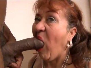 hiszpański, bbw, babcia