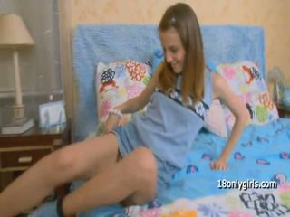Teenagers youngers anal laska moves