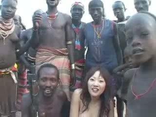 查 日本 有趣, 熱 女孩 新, 看 非洲的
