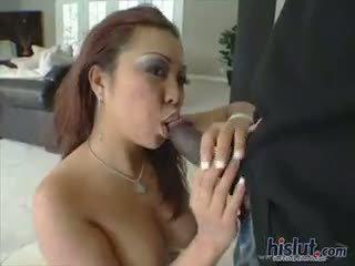 Jazmine Likes Ebony Dick
