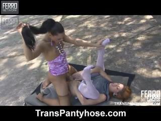 Mix Of Movies By Trans Pantyhose