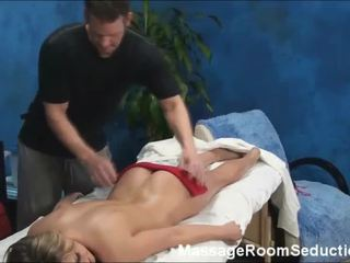 Hot Teen Shaye Lured And Fucked By Her Massage Therapist Onto Hidden Camera