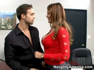 Hot Babe Gets Fucked Doggy Way At Work