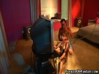 Holly wellin doing great striptease in zorlap daňyp sikmek action