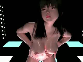 3D manga dancer