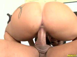 Monica Santhiago Pumps Her Soaked Latin Babe Twat Up And Down Ridged Shaft