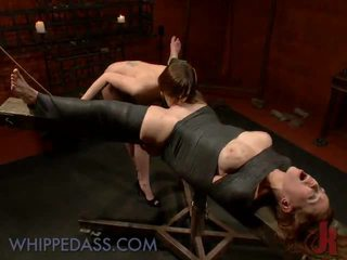 Rough Lesbie Domination In The Dungeon