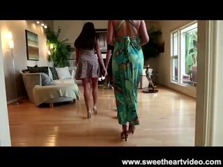 more girl-on-girl fun, hot female-friendly hottest, interracial great